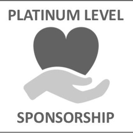 Platinum Level Event Sponsorship