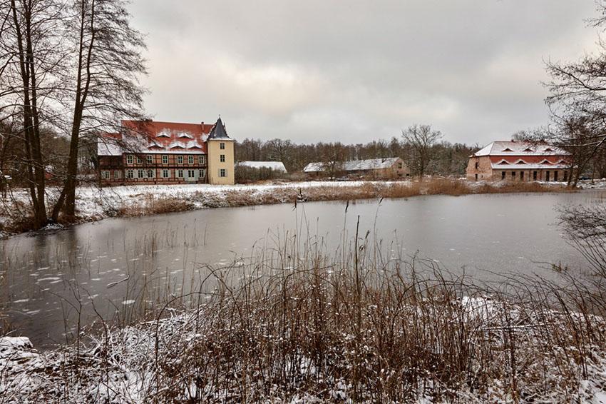 Herrenhaus, Briest (Sachsen-Anhalt), Januar 2015