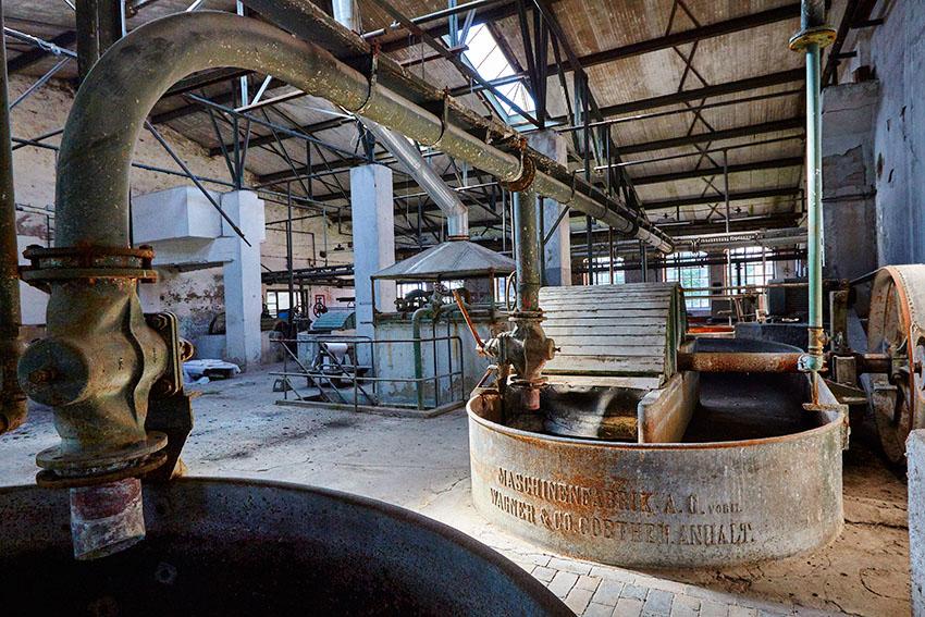 Patent-Papierfabrik Hohenofen e.V., Sieversdorf (Brandenburg) Juni 2015