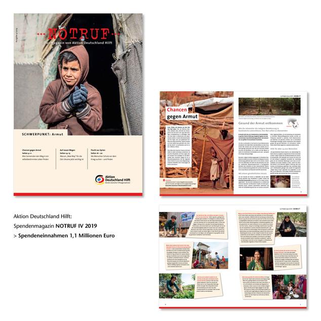 Spendenmagazin