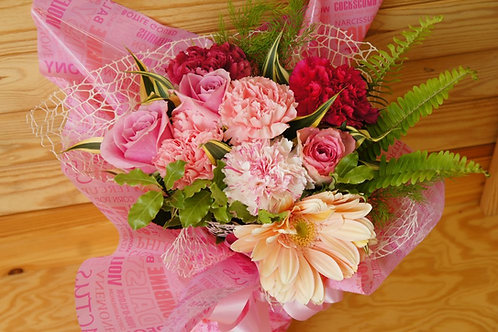 Bouquet Style Pink