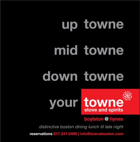 towne stove + spirits