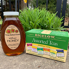 Tea & Honey Comfort Kit
