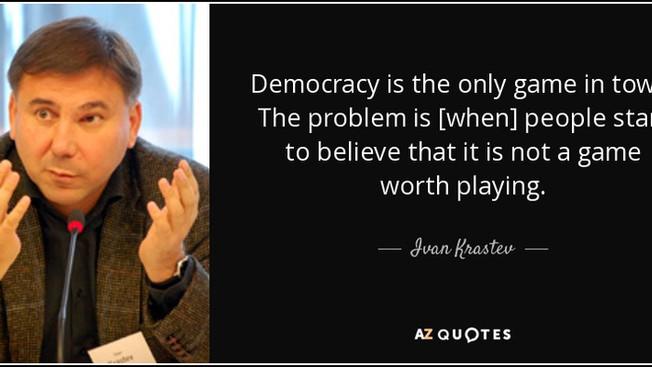 Иван Кръстев за демографската революция и преобръщането на демокрацията в Америка и Европа