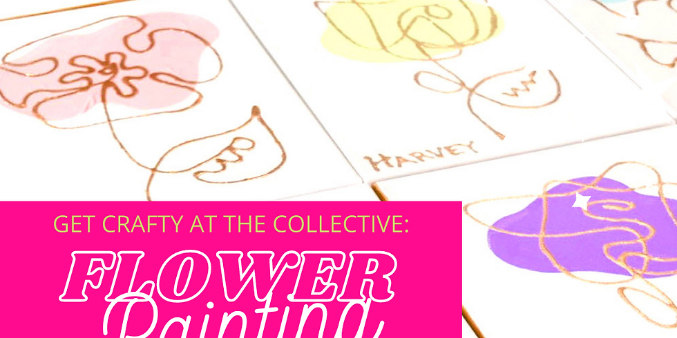 Spring Inspired Line Painting with Shelly Harvey
