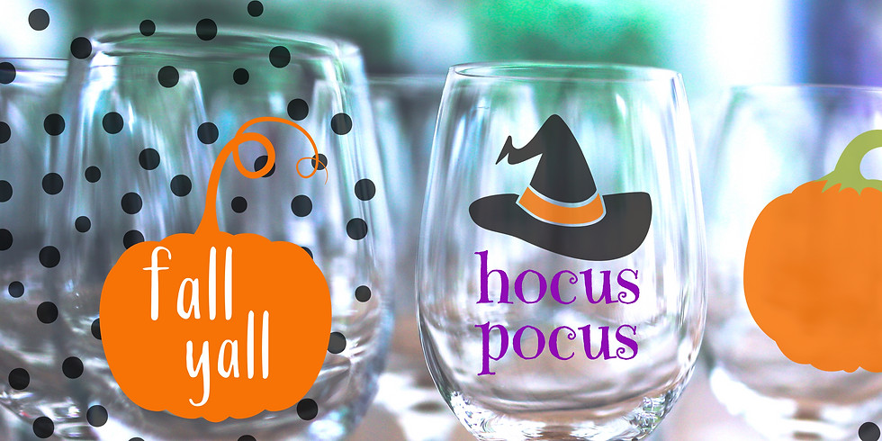 WEDNESDAY NIGHT: Get Crafty at The Collective - Wine Glass Painting Party