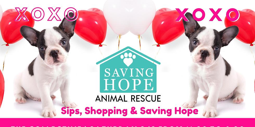 Sips, Shopping & Saving Hope