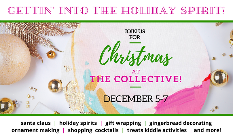 Christmas at the Collective Website Even