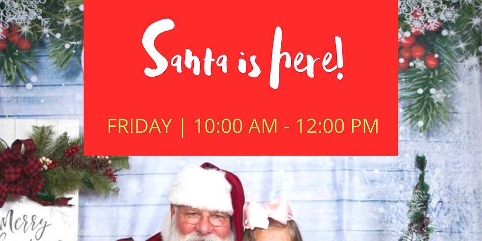 Cookies with Santa Presented by Sitting Made Simple