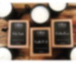 cera multiple scent black jars - Amy Ace