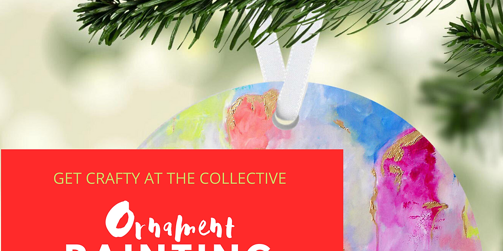FREE EVENT: Ornament Painting with Ginger Ray Walker