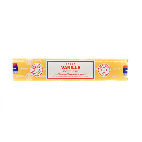 SATYA Incense Vanilla