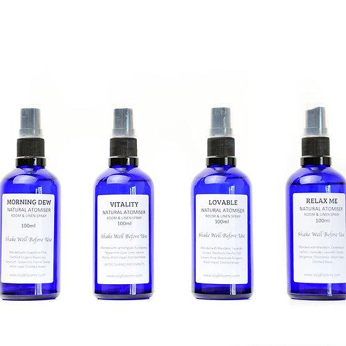 Natural Atomiser - 100ml Room & Linen Spray