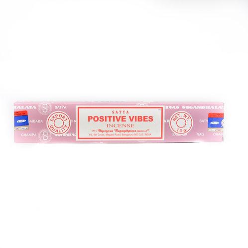 SATYA Incense Positive Vibes