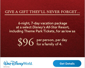 Give the Gift of a Walt Disney World Vacation