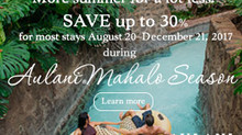 EXTEND THE SUMMER INTO FALL AT AULANI, A DISNEY RESORT & SPA