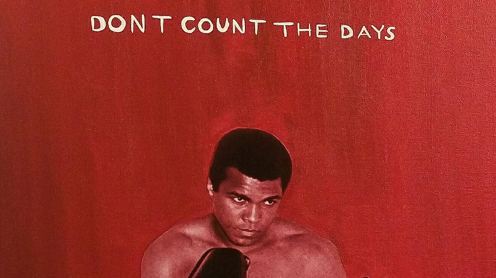 Art Print- Don't Count The Days