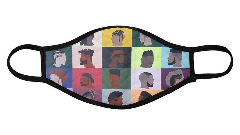 Barbershop Face Mask