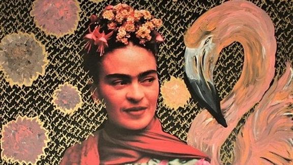Art Print- Flamingo Frida