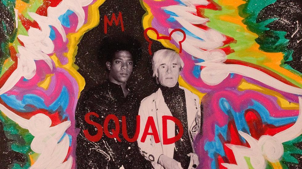 Basquiat x Warhol
