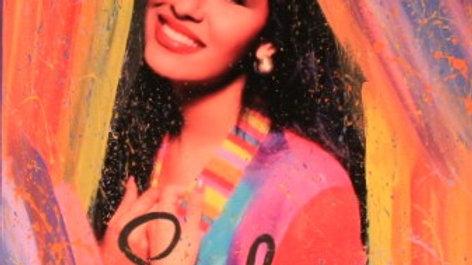 Selena Vibrant Art Print