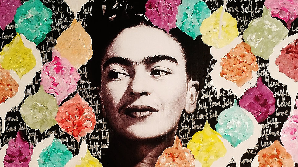 Art Print- Floral Frida
