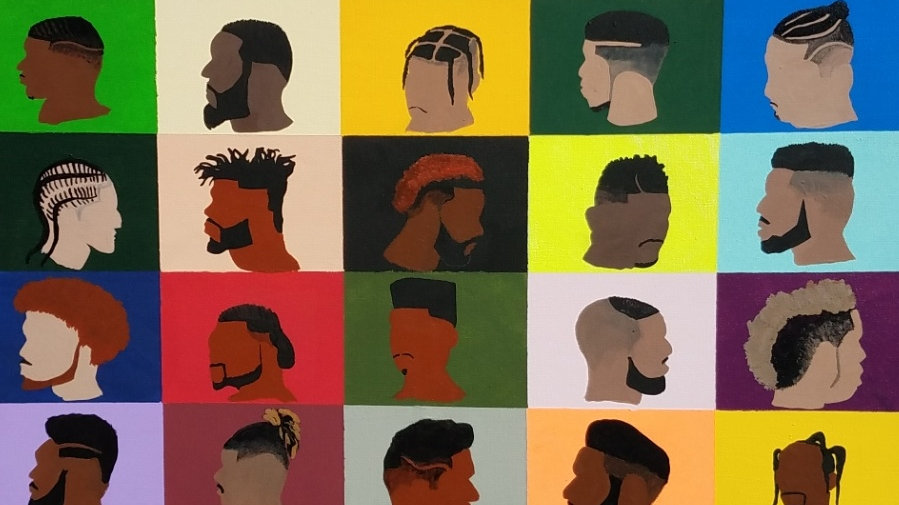 Art Print- Barbershop