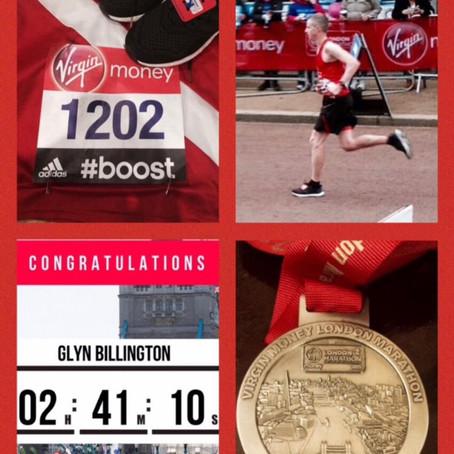 Glyn Billington - Postie to 2hr41 Marathon Runner