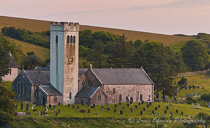 Manorbier Church, pembrokeshire