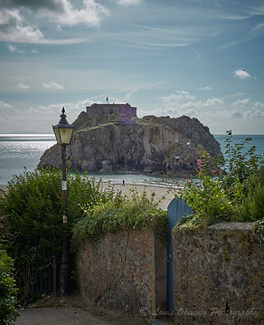 St Cathrines island Tenby, Pembrokeshire