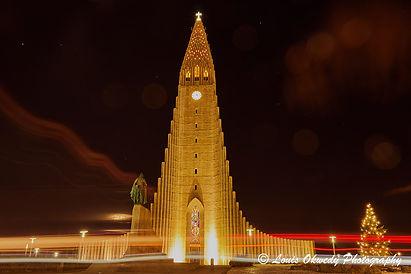 Hallgrímskirkja church,Reykjavík Iceland