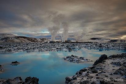 power station, Reykjanes, Iceland