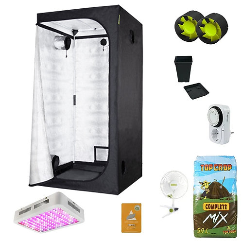 KIT INDOOR PRO SCROG LED 60X60X160