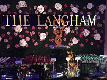 """Tea with E""                         Langham,Pasadena"