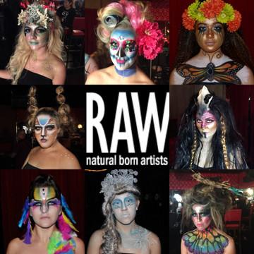 RAW natural born artist                     MERGE LA