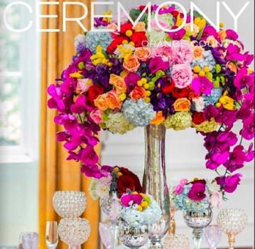Featured in Ceremony Magazine,         2016 Orange County