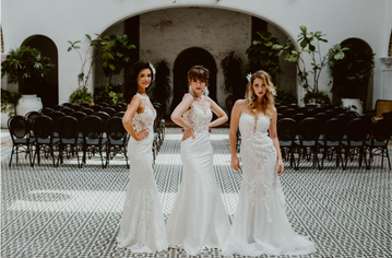 NAAMA AND ANAT HAUTE COUTOURE BRIDAL FASHION SHOOT