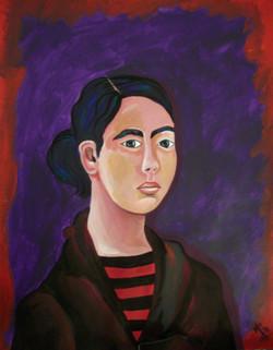 Mself-portrait (Monica).