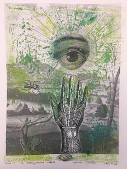 Desfragmented nature. serie 4