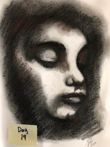 Face crayon.