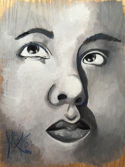 Mself-portrait (Monica)