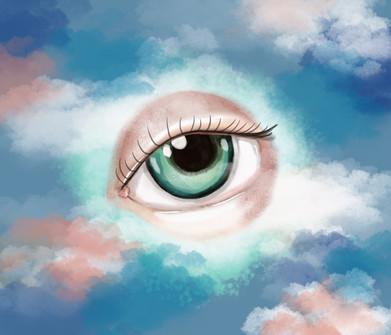 Divine eye.