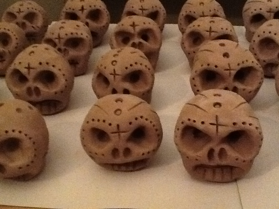 skulls mud