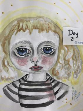 Day 2, blue eyes