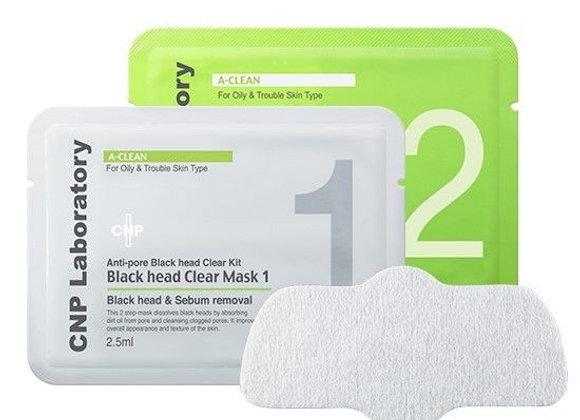 CNP Anti-Pore Blackhead clear kit (Mask1&2+swap) 5.5ml x 10EA