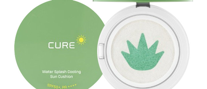 KJM Aloe, CURE Mineral Cooling Sun Cushion 25g, PA++++