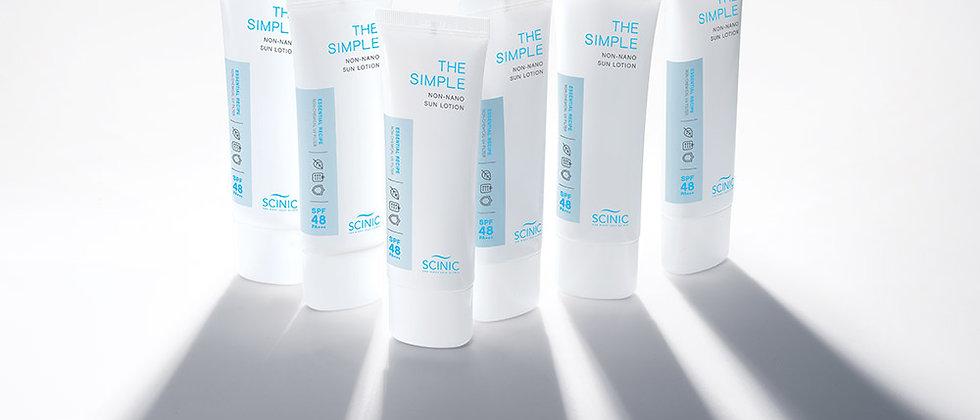 Scinic, non-nano, mineral sun lotion 50ml 48+++