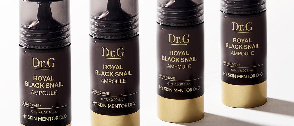 Dr.G, Royal Black Snail Ampoule (6mlx4ea)