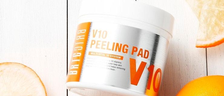 VRTC, V10 Vitamin Peeling Pad (80 pads) 165ml