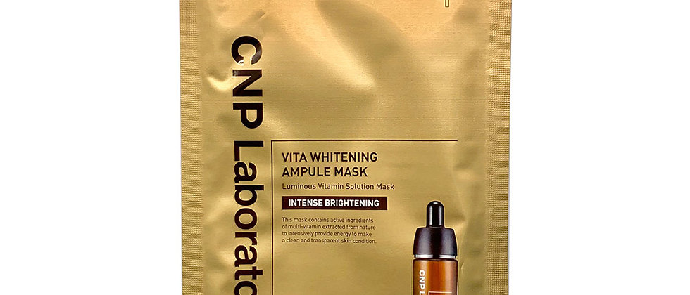 CNP, Vita Whitening Ampoule Mask 25ml x 5ea (boxing from 20ea)